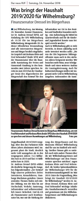 Neuer Ruf Wilhelmsburg vom 24.11.2018, Seite 3