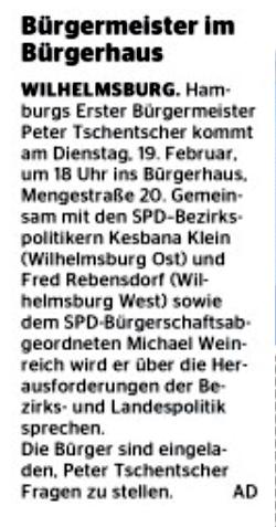 Wochenblatt Wilhelmsburg 13.02.19