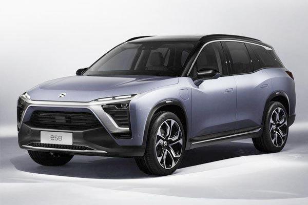 Elektroautomobilität Nio Crossovers ES8 Chinesisches Elektroauto