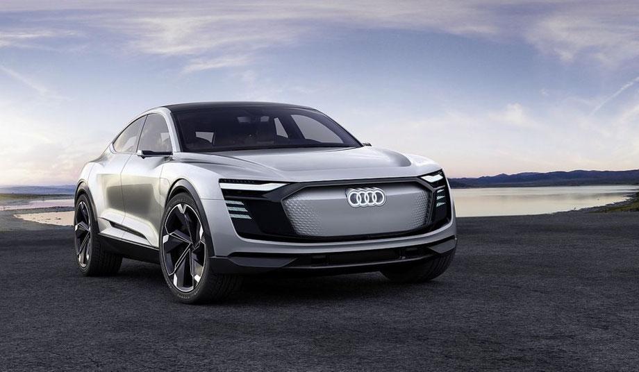 Elektroautomobilität Audi E-Tron SUV-Coupé Reichweite