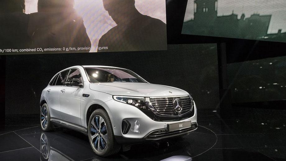 Elektroautomobilität Mercedes EQC Elektroauto SUV