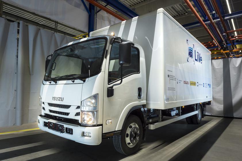 Elektro LKW Fahrzeug