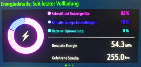Elektroauto Erfahrungsbericht Energiedetails Opel Ampera e