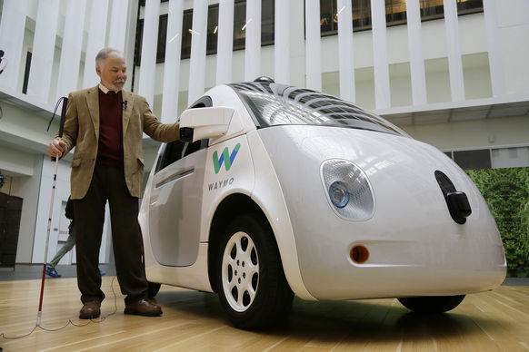 Elektroautomobilität Google Car