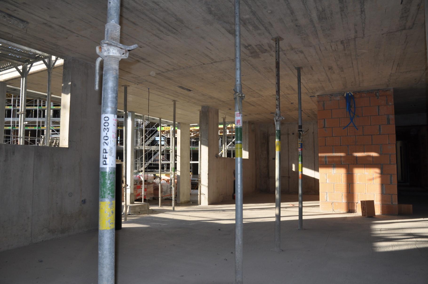 Rohbau Küche/Wohn- und Esszimmer 3,5 Zimmer Wohnung Einheit B
