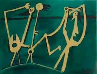 après Picasso ‹‹les acrobats››