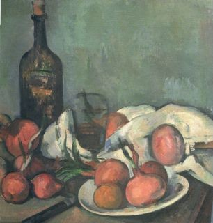 Cézanne's Still Life with Onions