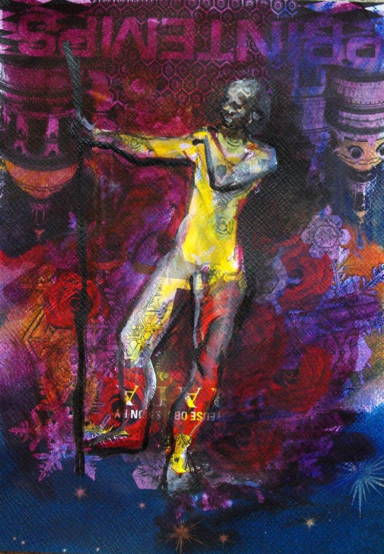 Dancing (encre)
