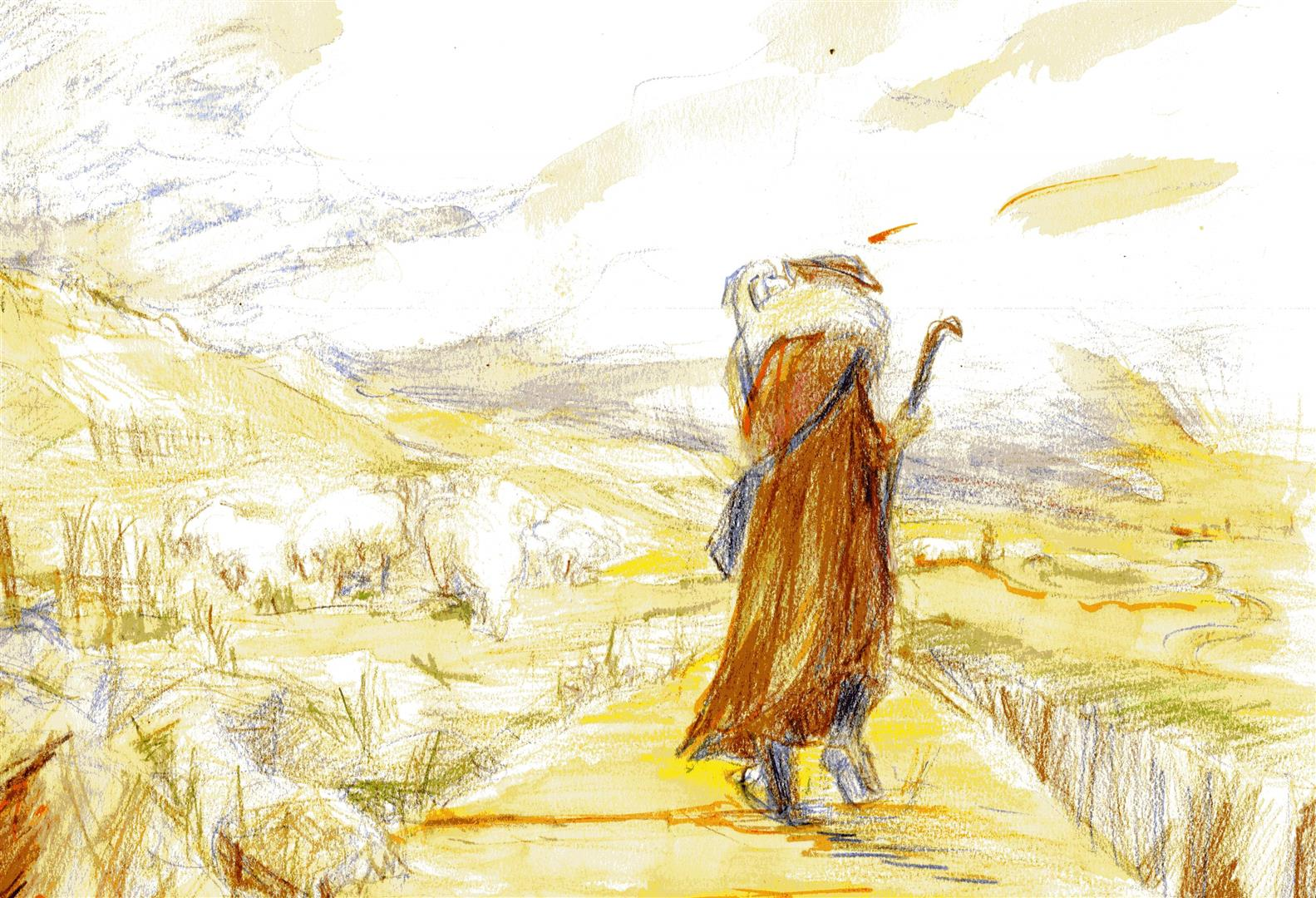 """""""Le Seigneur est mon berger, rien ne saurait me manquer"""" Ps 23"""