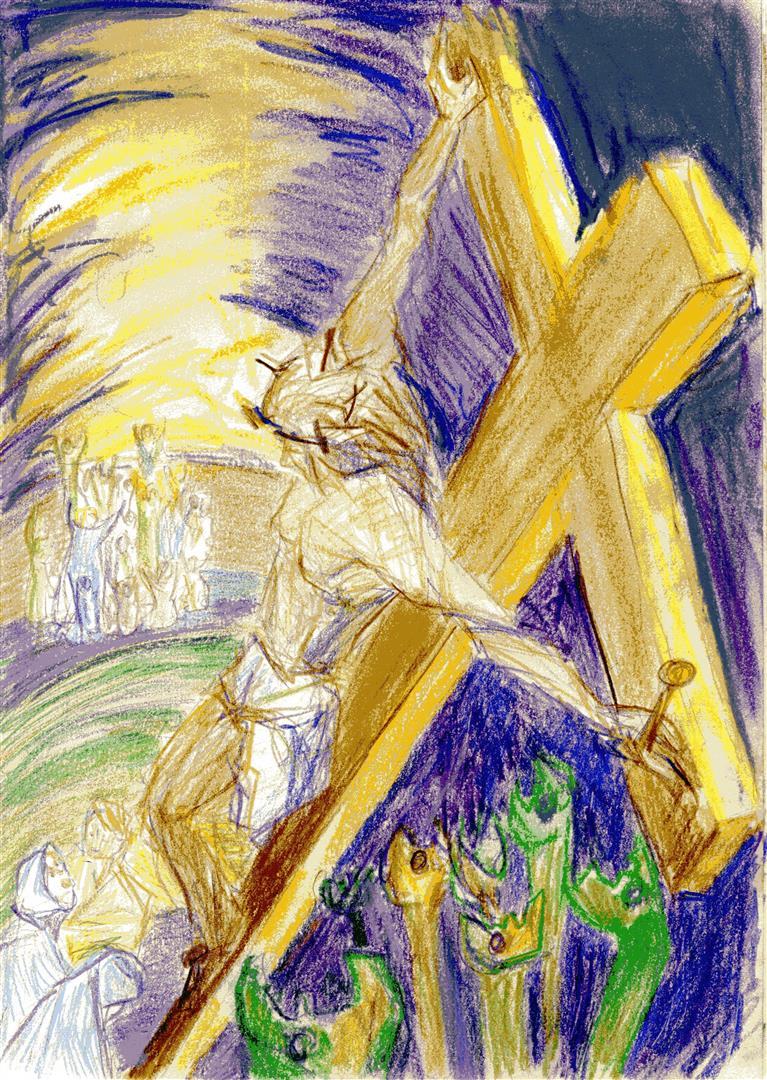 """""""Mais toi, Seigneur, ne sois pas loin, ô ma force, vite à mon aide"""" Ps 22,20"""