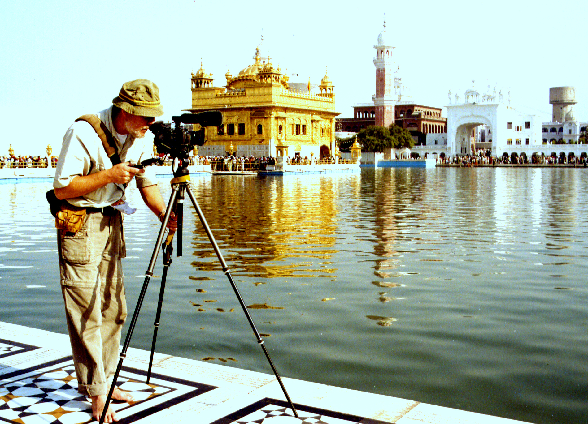 Der Goldene Tempel - Heiligtum der Sikhs - Amritsar, Indien