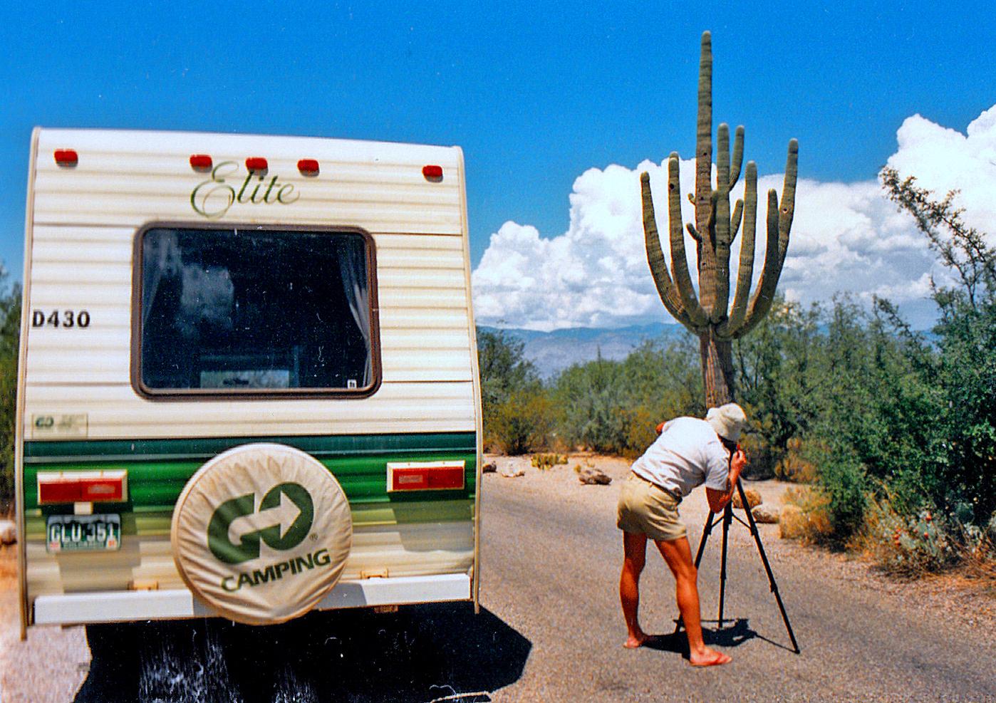 Mit dem Campmobil duch New Mexico, unvergesslich