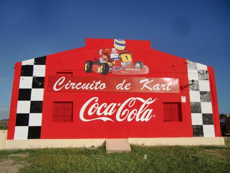 Carrera de kart en Chiclana de la frontera