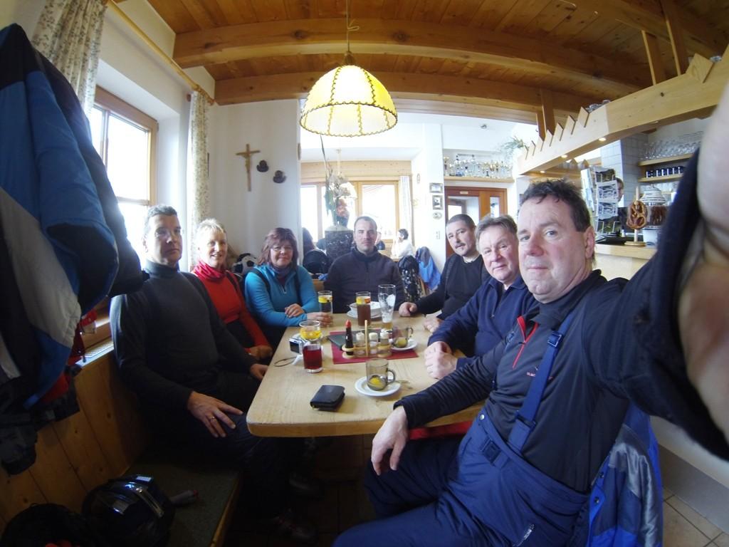 Mittag auf der Balbachalm