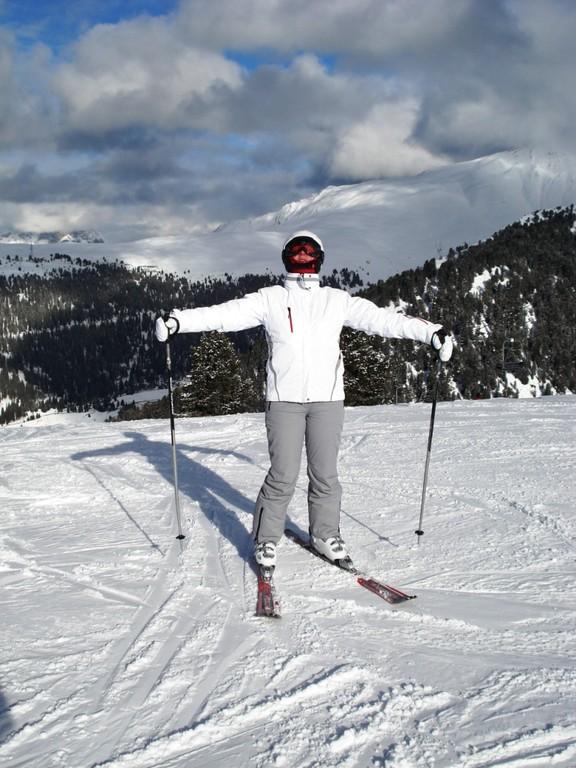 ich bin die Königin der Berge