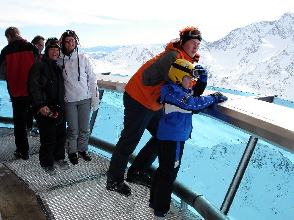 Hochgurgl-Blick auf die Dolomiten