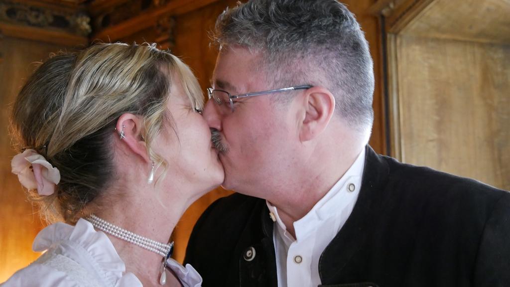 """""""du darfst die Braut jetzt küssen"""""""