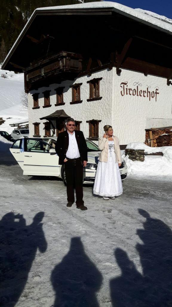 das Brautpaar auch