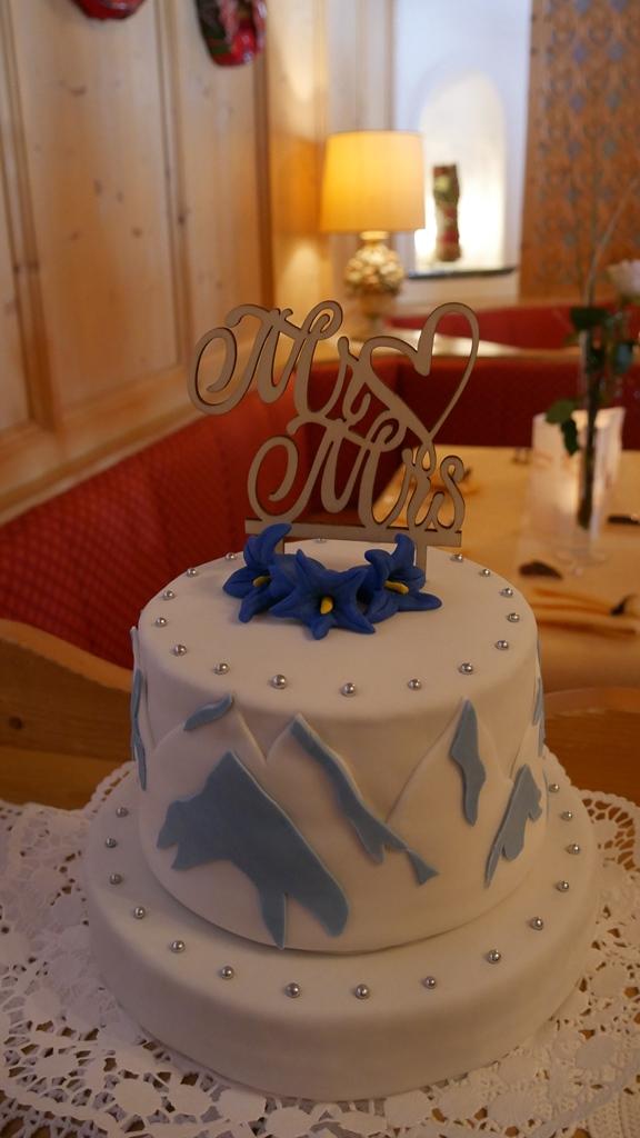 die Hochzeitstorte, Danke an Katrin....