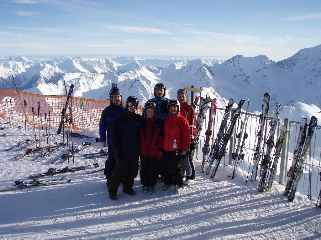 Hochgurgl-Blick Richtung Dolomiten