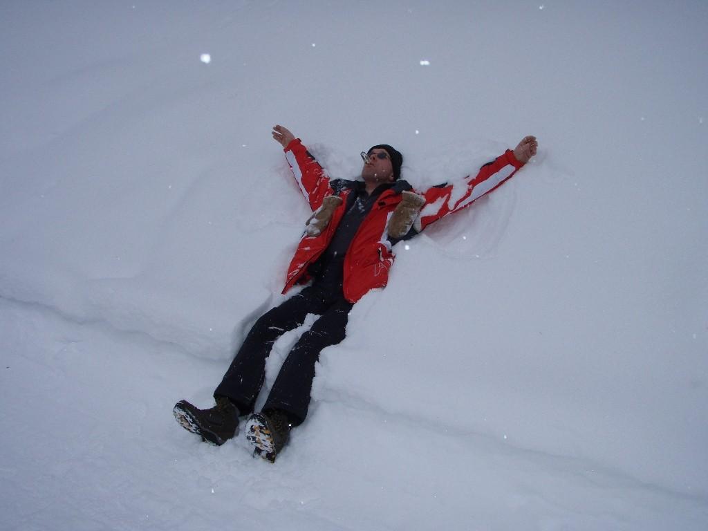 Niederthai-Schneewanderung Larstigalm