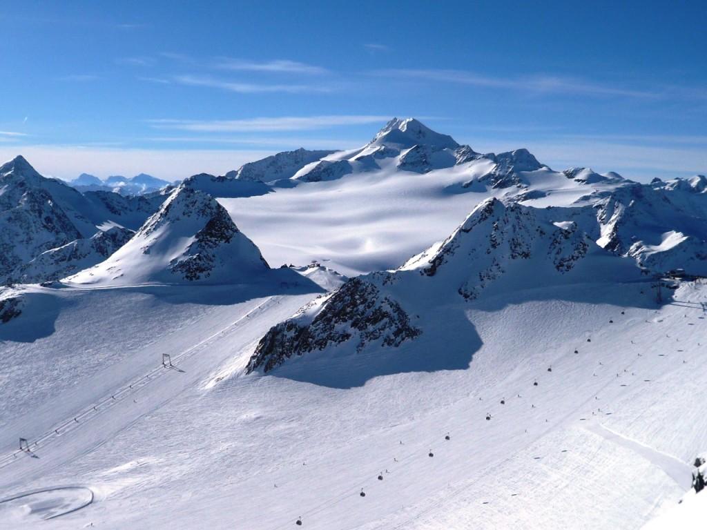 Aussicht vom ersten Gipfel der BIG 3