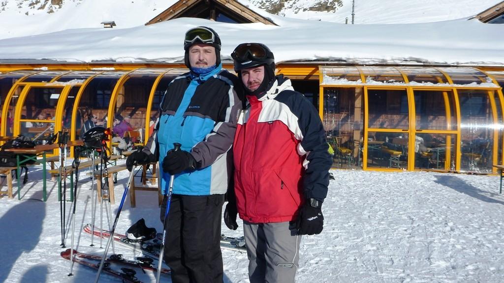 der Ski und sein Bro