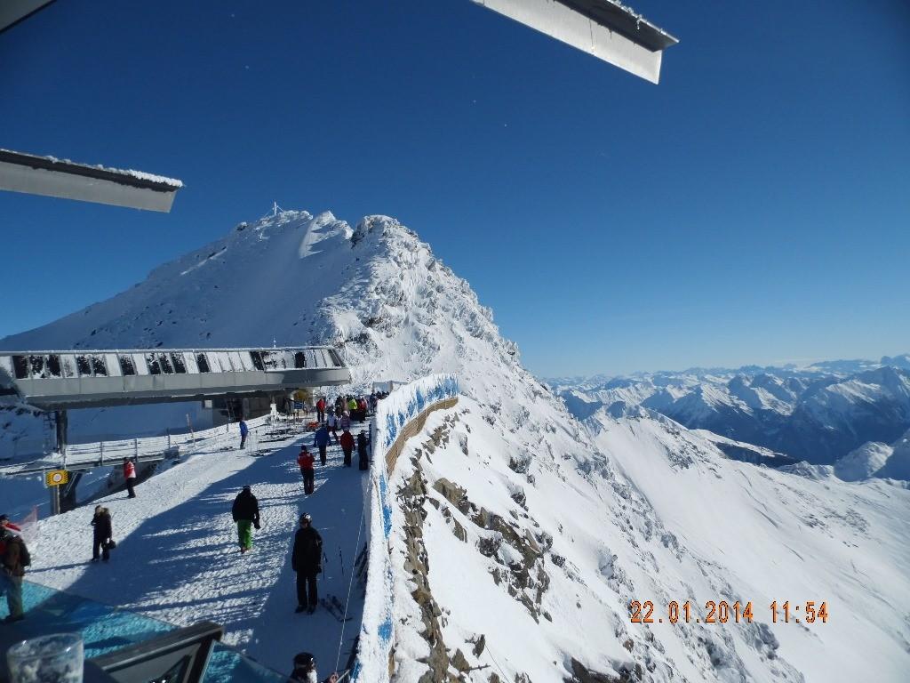 Blick Richtung Dolomiten