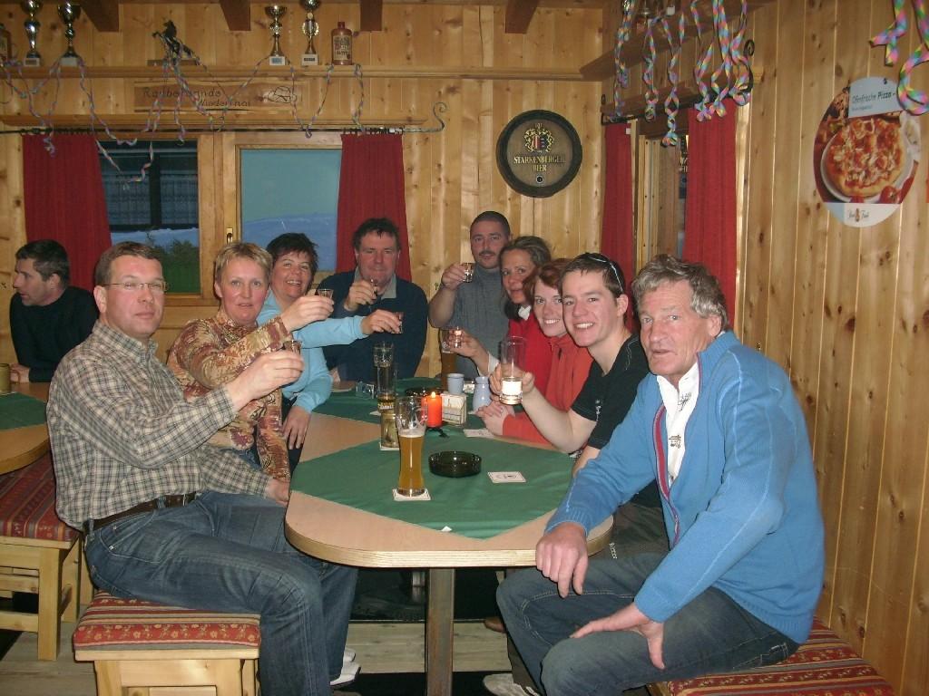 Auf einen schönen Urlaub-Prost Rudi