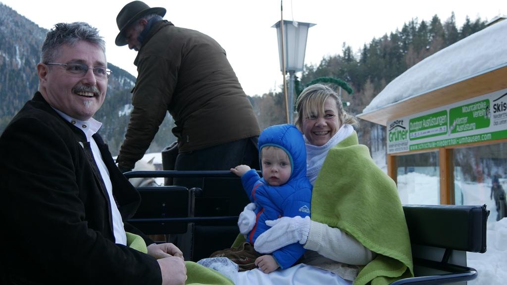 2. Überraschung des Tages Kutschfahrt mit Enkel