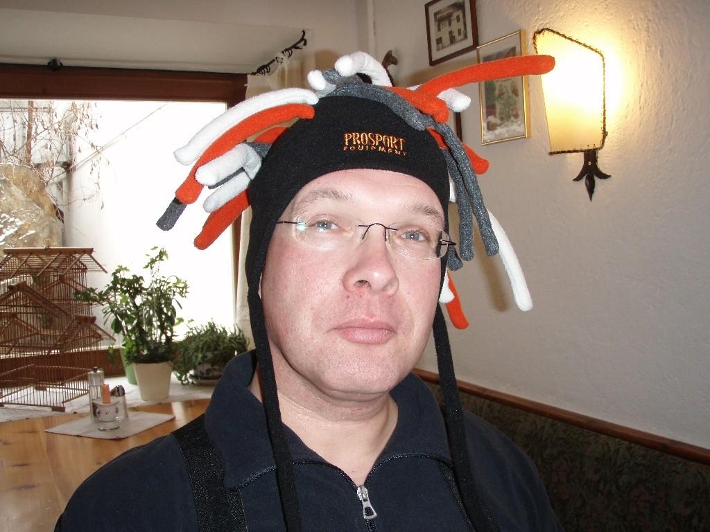 Ob die Mütze mir steht?