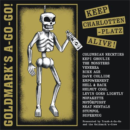 GOLDMARK'S A-GO-GO! Keep Charlottenplatz Alive: Benefiz-Compilation-LP