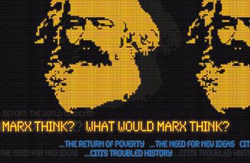 Karl Marx auf dem Time Magazine-Cover