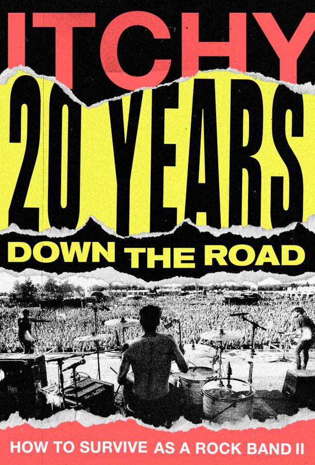20 Years Down The Road: ITCHY kündigen ihr zweites Buch an