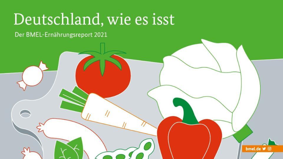 BMEL-Ernährungsreport 2021