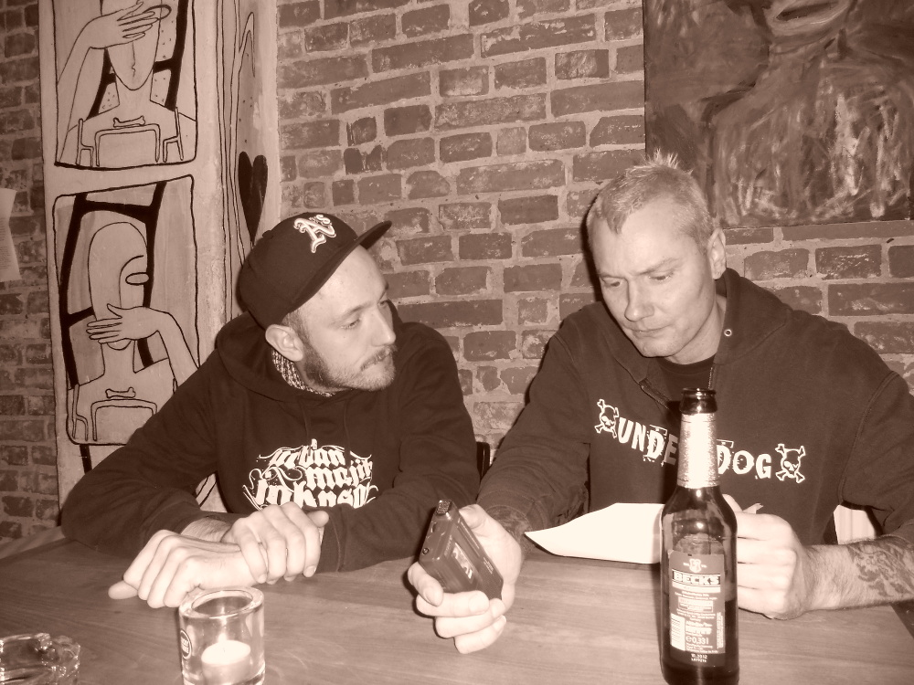 Interview mit DAS PACK in Bremen (Lagerhaus)