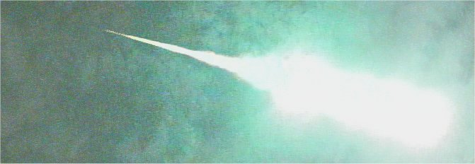 7月2日隕石落下をした大火球