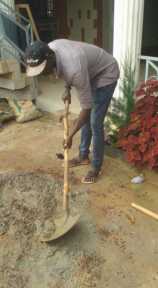 Préparation ciment