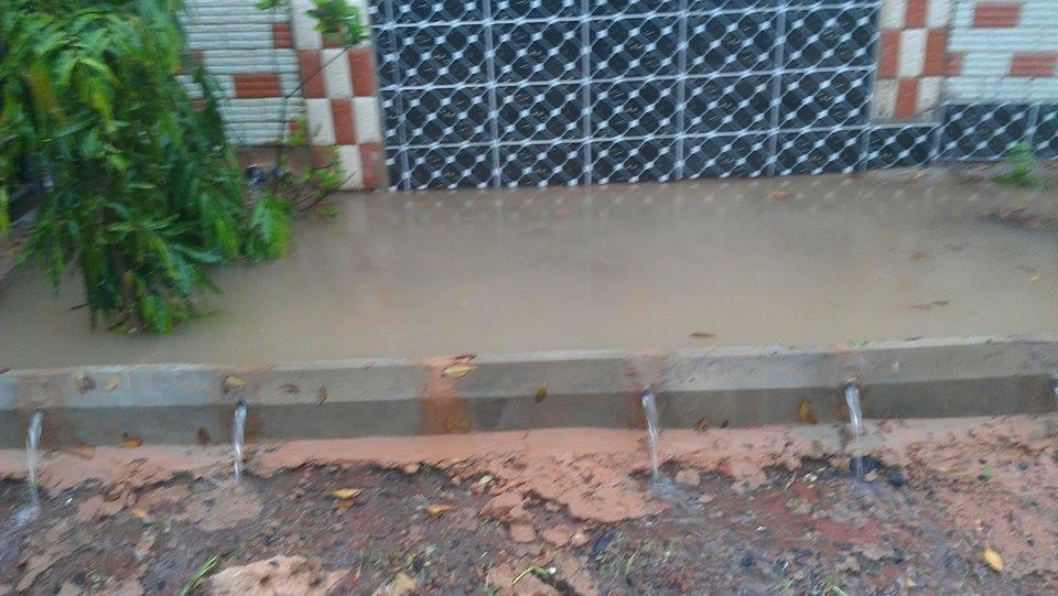 Saison des pluies et écoulement des eaux