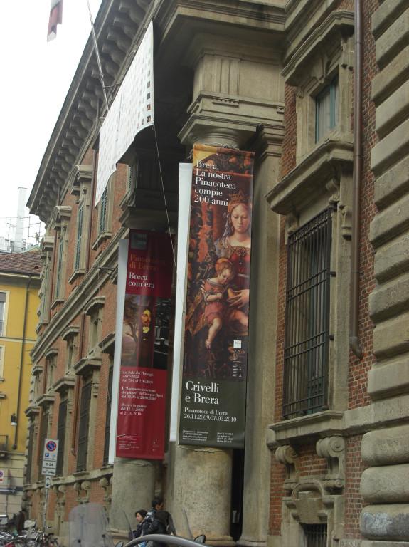 次はブレラ美術館。クリヴェッリ~