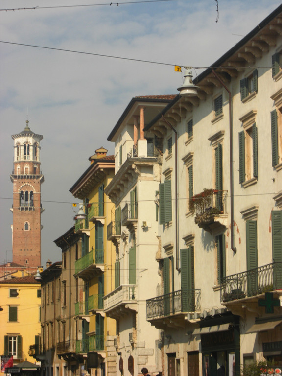 ヴェローナの町
