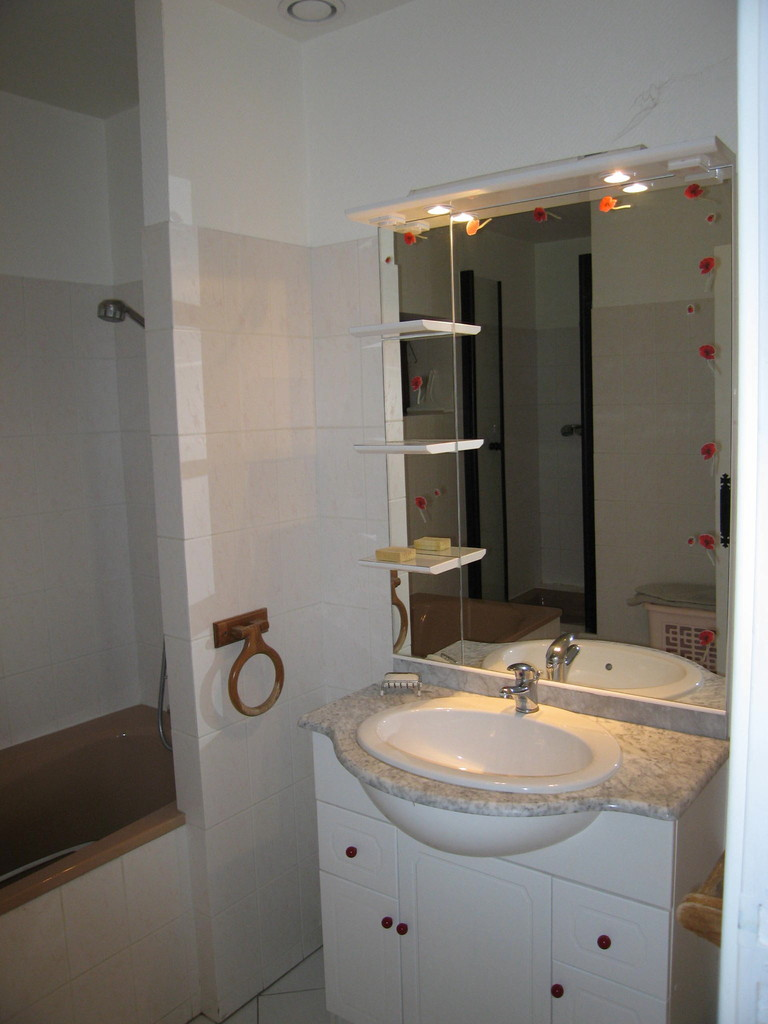 """La salle de bain des """"coquelicots"""""""