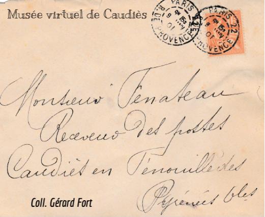 courrier de 1901
