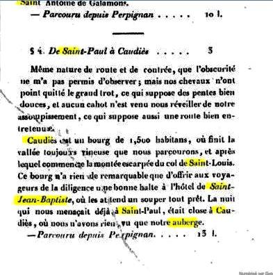 """(1) In """"La description routière et géographique de l'Empire"""""""