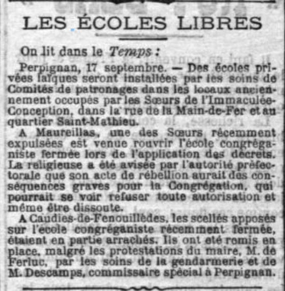 JOURNAL LA CROIX 19/09/1902 (source gallica.bnf.fr)