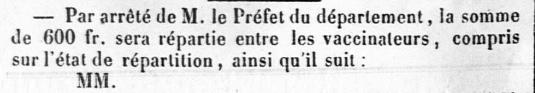 Vaccinateur 1854