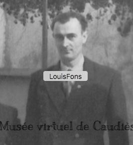 1959  Détail d'une photo de groupe confiée par Francine Fabre
