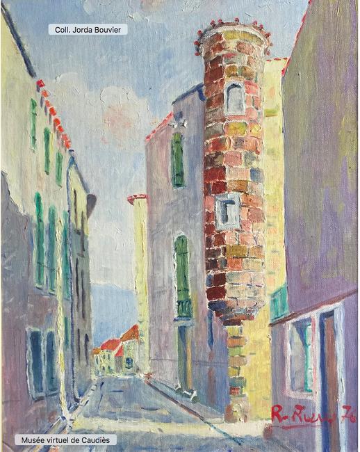Toile peinte par Robert Rieux en 1976