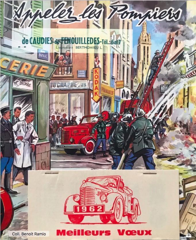 Pompiers 1962