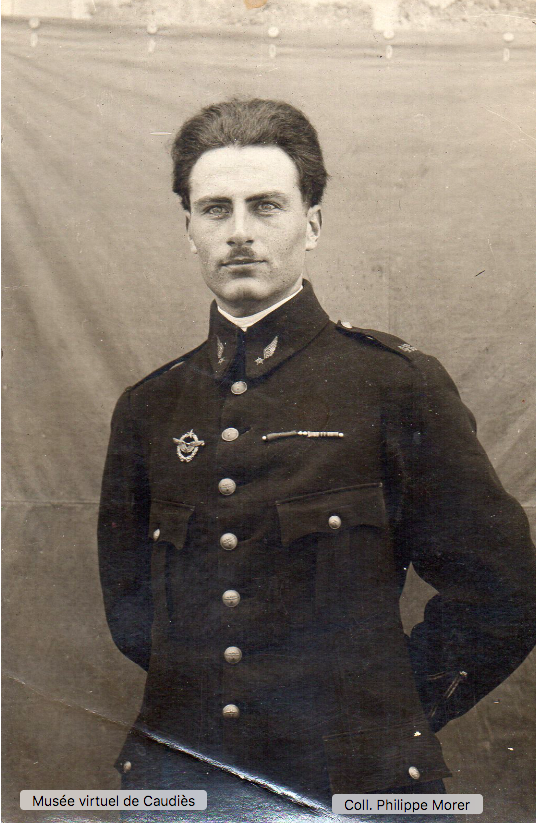 Jean Joseph Morer à 22 ans